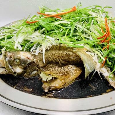 Cá Mú Nghệ Hấp Hong Kong 0.5kg